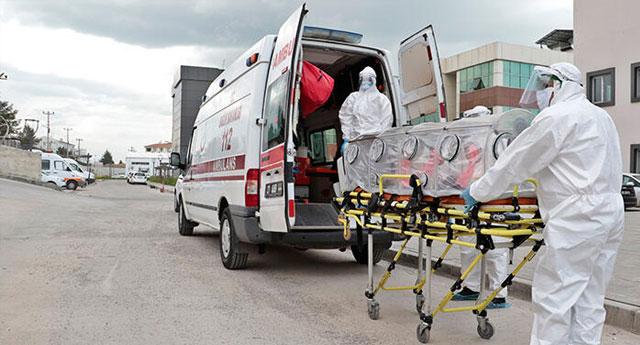Diyarbakır'da 600 sağlıkçı virüs kaptı