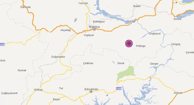 Malatya'da deprem... Kandilli'ye göre 5.7, AFAD'a göre 5.2