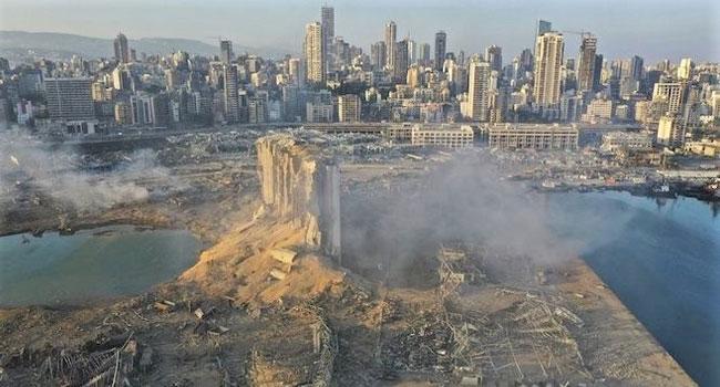 Lübnan'da acı ve gözyaşı...