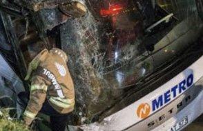İstanbul'da otobüs kazası: 5 ölü, 25 yaralı