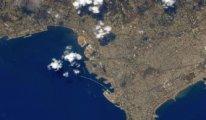 Beyrut Limanı uzaydan böyle görüntülendi