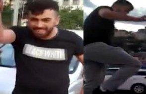 İstanbul'da polis yok mu? Magandanın saldırı anı kameralarda