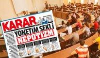 Karar'dan ilginç manşet: Nepotizm üniversiteleri teslim aldı