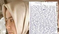Melek Çetinkaya'dan mektup var: Beni değil, evlatlarımı unutturmayın