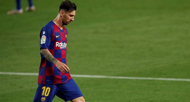 Messi kadro dışı kaldı