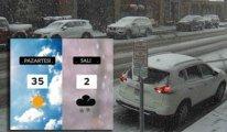 İnanılması zor ama gerçek! ABD'ye yaz günü kar yağdı