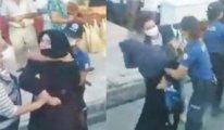 Furkan gönüllülerine polis şiddeti