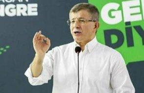 Davutoğlu: Gül'ün çatı adaylığı için bana geldiklerinde reddettim