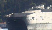 ABD'nin bir donanma gemisi daha Karadeniz'de