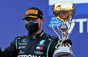 Formula 1'de Bottas birinci oldu