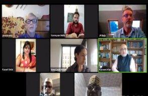4 kıtadan katılımcılarla Uluslararası dua programı