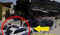 Yeni görüntüler ortaya çıktı… MHP'li vekilin şoförü, güvenlik görevlisini böyle ezdi!