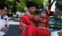 Çin'de bir haftada 600 bin çift evlendi