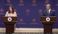 İsveçli bakan ile Çavuşoğlu arasında tartışma