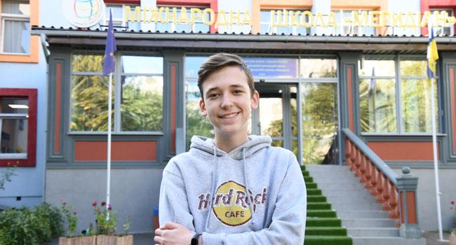 Ukrayna'yı, Uluslararası Meridyen Okulu öğrencisi Oleksandr Balabanov temsil edecek