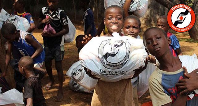 İyilik insanın özünde vardır... Time to Help aracılığıyla bağış yapın