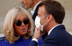 Macron'un eşi Brigitte Macron karantinaya alındı