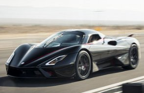 İşte dünyanın en hızlı seri üretim arabası