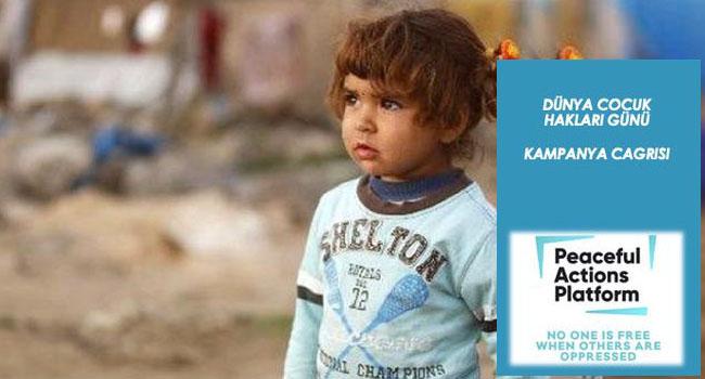 Suriyeli mülteci çocukların eğitimine katkı kampanyasına davet