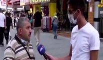 Sokak röportajında 1 dakikada Türkiye'yi özetledi: Muhabir bile şaşırdı