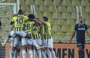 Fenerbahçe, Trabzon'u 3 golle geçti