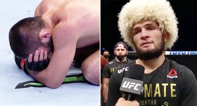 Nurmuhammedov son kez kafese girdi, şampiyon olarak dövüşü bıraktı