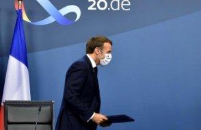 Almanya'dan Macron'a destek