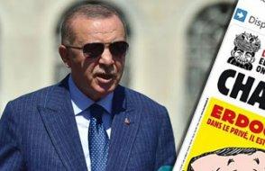 Charlie Hebdo Erdoğan kapağı çizdi