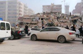 Bornova ve Bayraklı'da çok sayıda bina yıkıldı,  can kaybı 6 oldu 202 yaralı var
