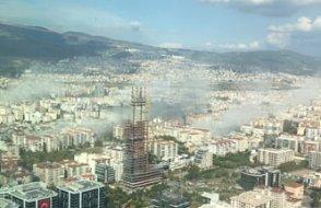 FLAŞ! İzmir'de şiddetli deprem