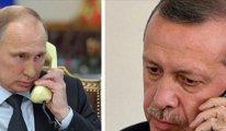 Erdoğan, Vladimir Putin'i aradı