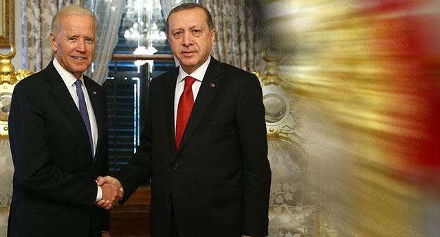 Biden'dan görüşme öncesi Erdoğan'a jest