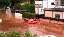İsrail'i sel vurdu: Tahliyeler başladı