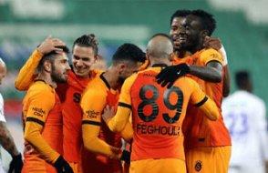 Galatasaray 4 golle 3 puan aldı