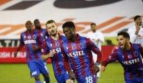 Trabzonspor, Ankara'dan 3 puanla dönüyor