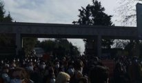 Boğaziçi'nde AKP'li rektöre karşı eylem