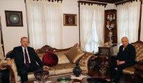 Erdoğan Bahçeli'yi evinde ziyaret etti