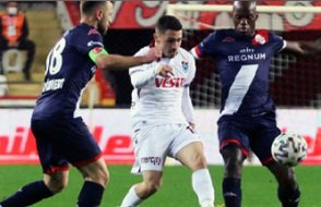 Trabzon 1 puanı son dakikada kaptı