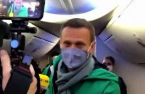 Uçaktan iner inmez tutuklandı