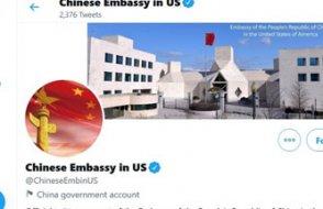 Gerekçe Uygurlar...  Çin Büyükelçiliği'nin Twitter hesabı kilitlendi