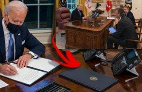 Trump'un 'kırmızı kola düğmesi' de gitti