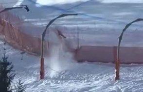 Kayak Dünya kupasında iki talihsiz kaza