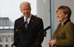 Biden ve Merkel İlk Kez Telefonda Görüştü