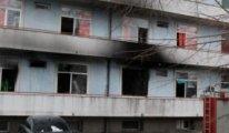 Romanya'da pandemi hastanesi yandı
