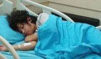 Anne babası tutuklanan küçük Hakan kansere yakalandı