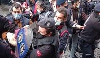 İzmir'de Polisten çok sert müdahale: Çok sayıda gözaltı