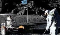 Astronotun kaybettiği golf topları!