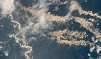 NASA'nın uzaydan çektiği fotoğraflar, Amazon'un 'altın nehirlerini' ortaya çıkardı