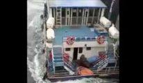Batan tekneden nefes kesen kurtarma operasyonu