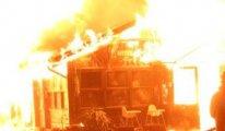 Boğaziçi Üniversitesi kampüsünde yangın çıktı
